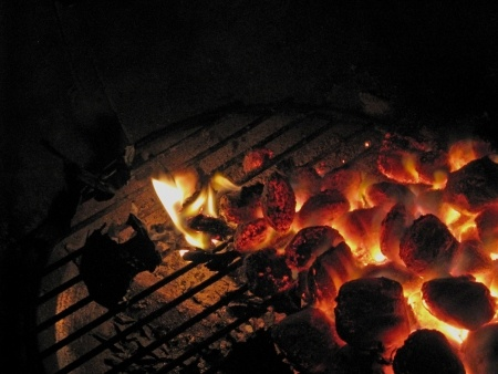 Camping and cookouts go hand-in-hand for Pack 25 Canfield, OH.