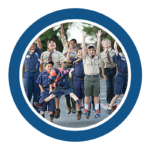 Cub Scout cheer round trans